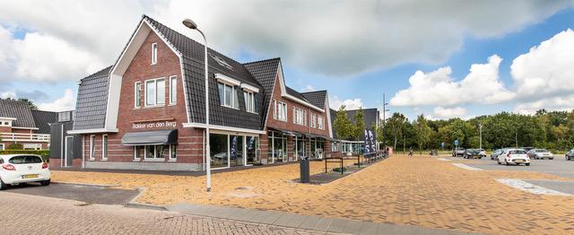 Nieuwbouw winkelcentrum Gytsjerk